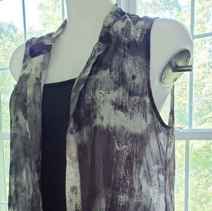 Eileen Fisher Silk Blouse. Size M